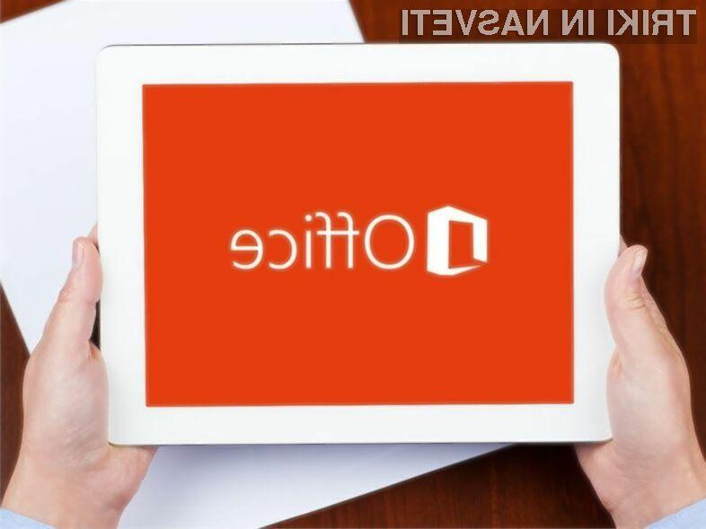Novi Office bo pisan na kožo manjšim tablicam.