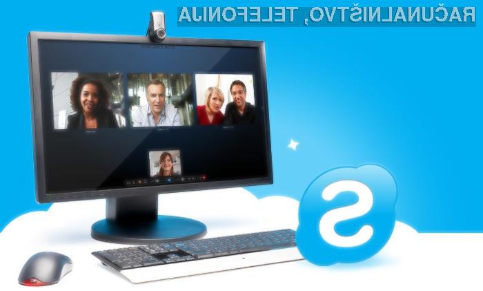 Prilagojeni Skype za poslovneže!