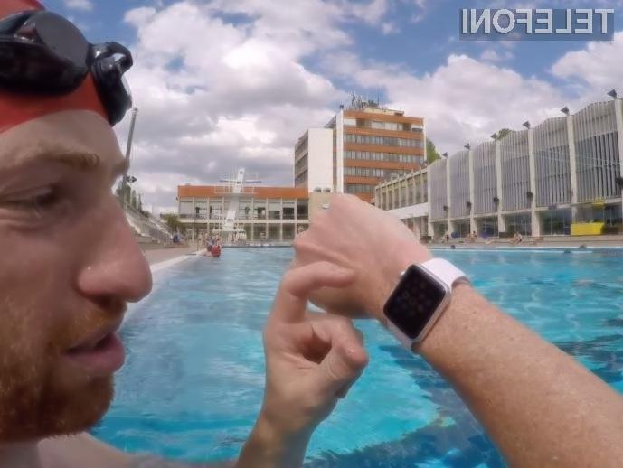 Pametna ročna ura Apple Watch je vsa preizkušanja prestala brez težav.