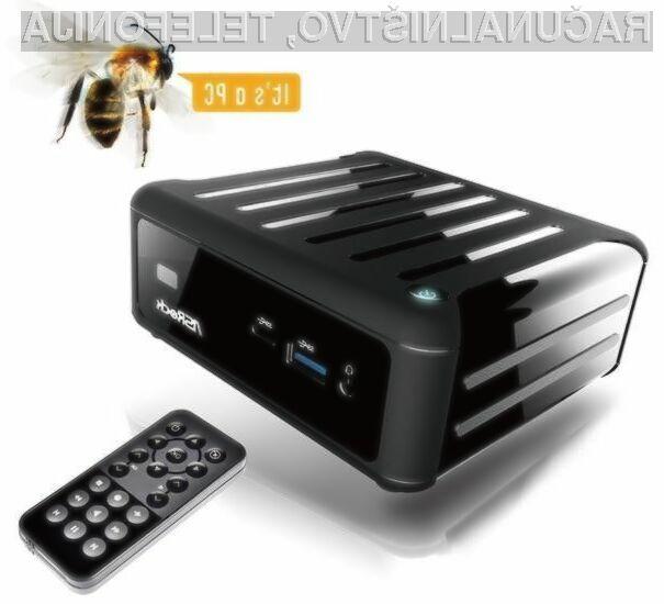 ASRock Beebox pri delovanju ne povzroča hrupa, saj je procesor pasivno hlajen!