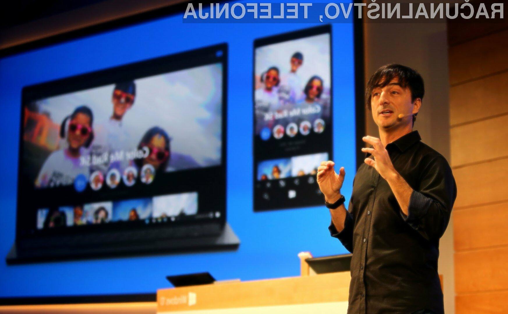 Microsoft Continuum bo vsaj sprava na voljo le za nove mobilnike Windows Phone!