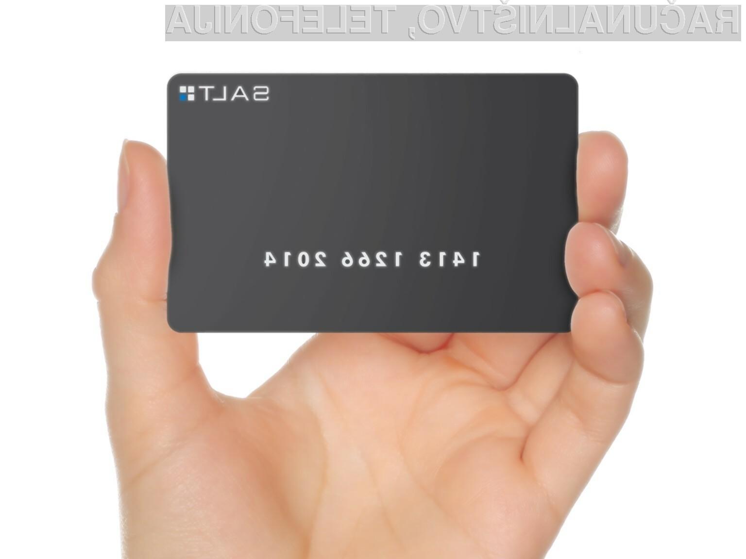 Pametna kartica Salt močno poenostavi oklepanje pametnega mobilnika!