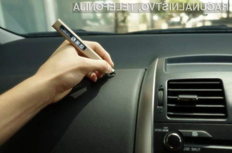 Digitalno pero Phree lahko uporabljamo celo v vlogi brezžične miške za mobilne naprave