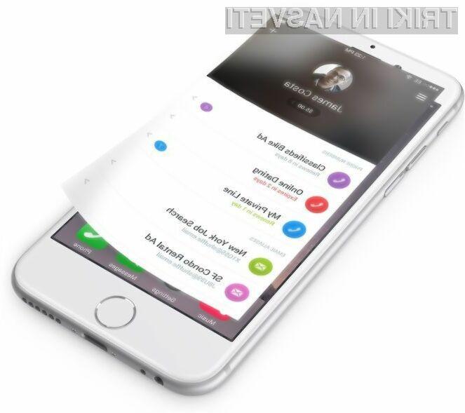 Z mobilno aplikacijo Shuffle je postopek pridobitve začasne telefonske številke ali elektronskega naslova sila enostaven proces.
