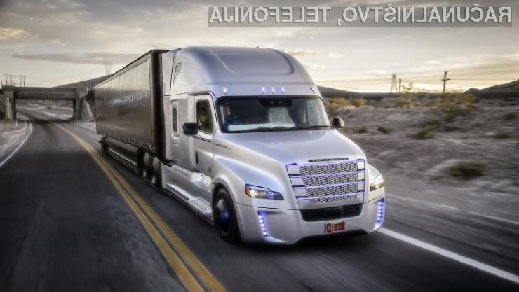 Prvi samovozeči tovornjak je preizkus opravil z odliko.