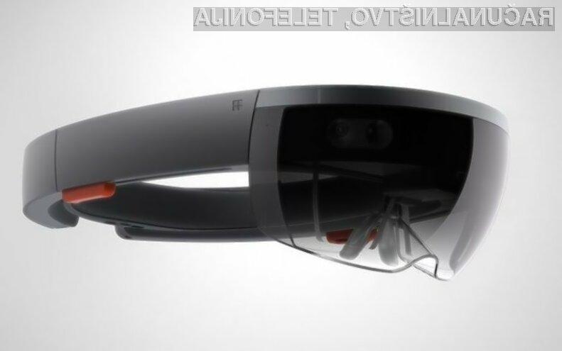 Microsoftova očala za navidezno resničnost HoloLens nas bodo takoj prevzela!