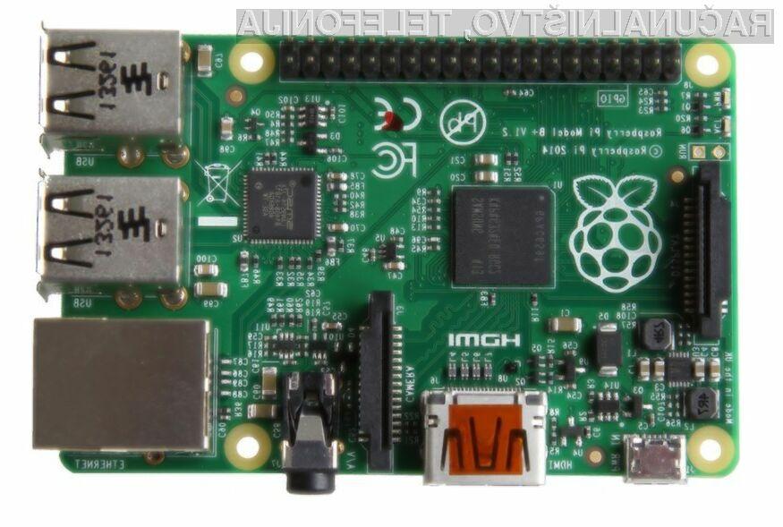 Poceni Raspberry Pi Model B+ bo postal še cenejši!