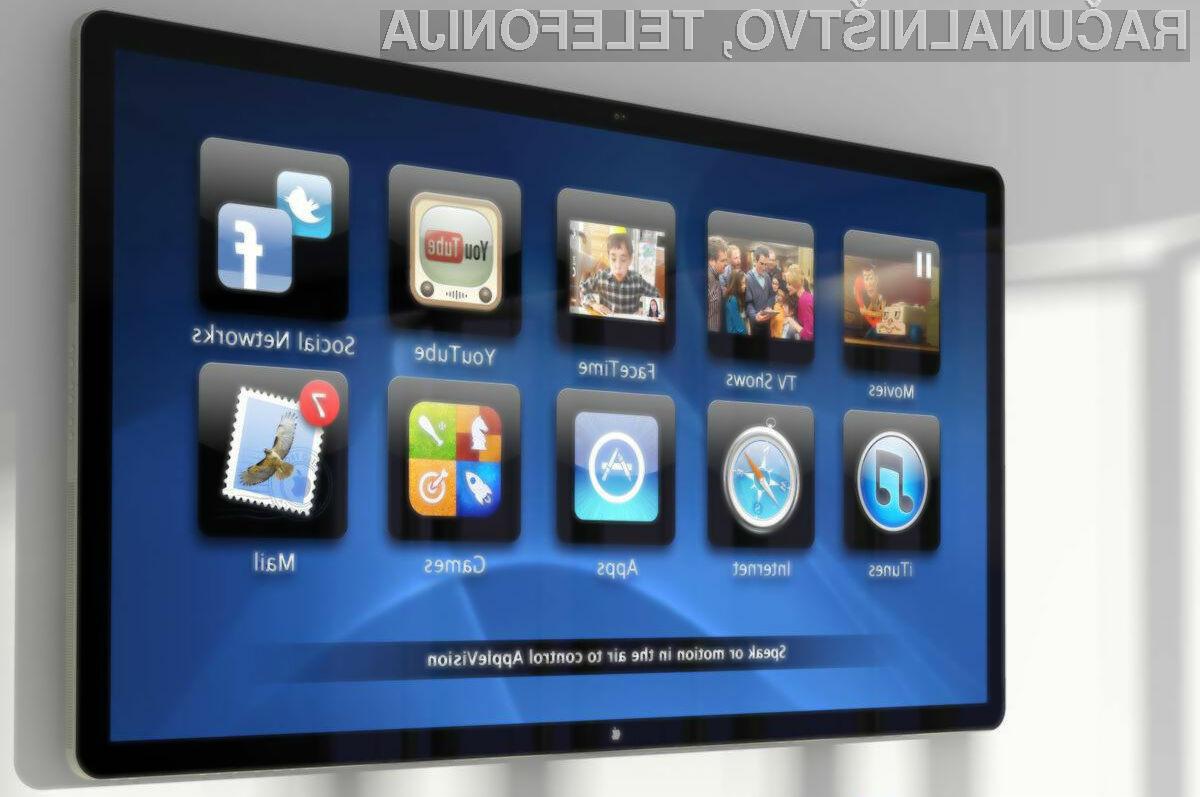 Trg pametnih televizorjev za Apple ni primeren predvsem zaradi nizke marže!