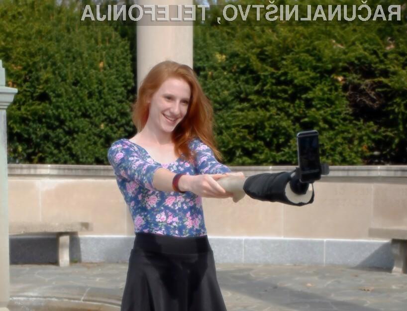 Selfie roka je že navdušila marsikaterega ljubitelja selfijev.