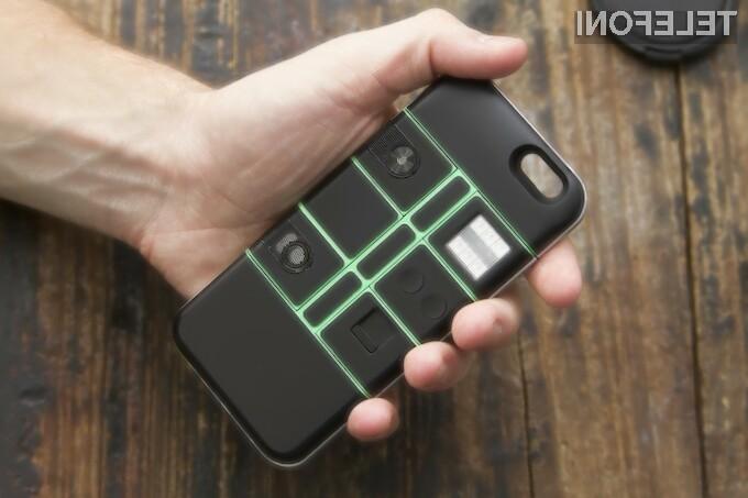 Z etuijem do modularnega mobilnega telefona!