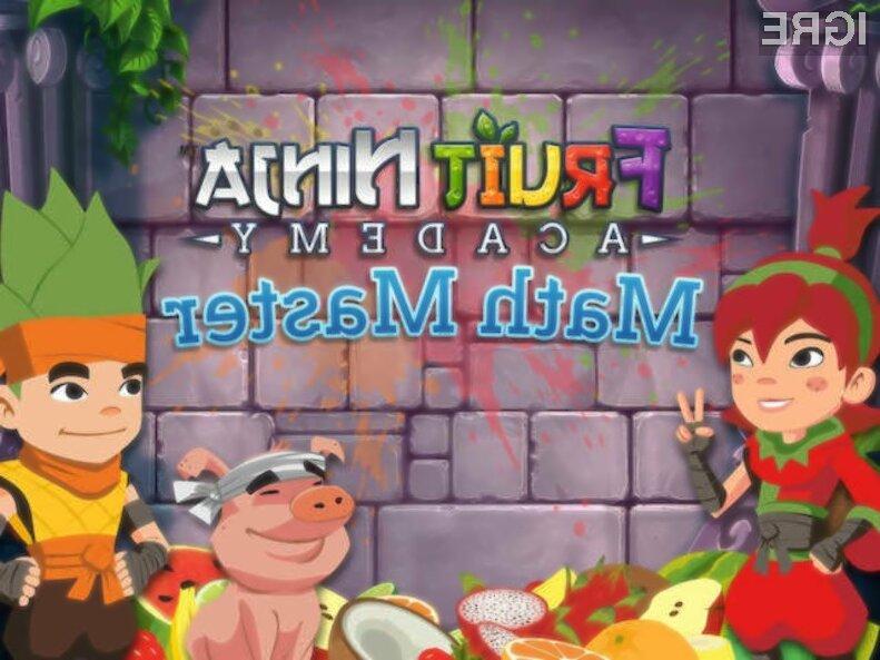 Igra Fruit Ninja Academy: Math Master se bo vašemu malčku takoj prikupila!