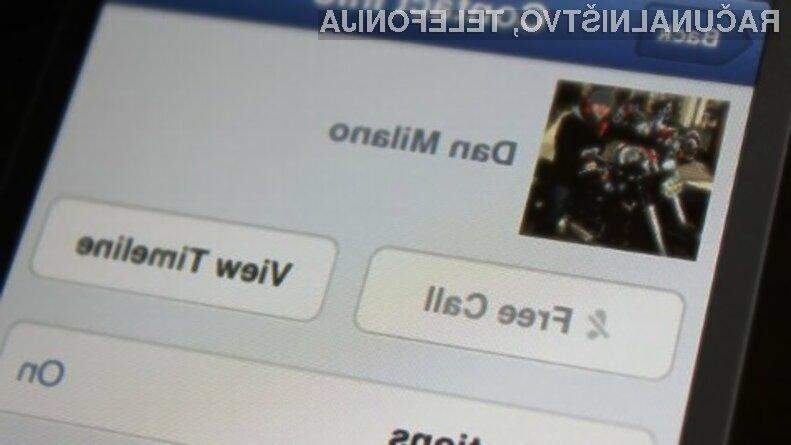 Facebook Messenger z videoklici je prepričal marsikaterega uporabnika.