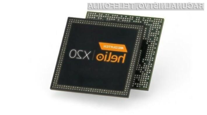 Z 10-jedrnim procesorjem MediaTek bodo tudi poceni mobilne naprave postale izredno zmogljive.