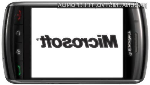Z nakupom podjetja BlackBerry naj bi zdaleč najbolj pridobilo podjetje Microsoft!