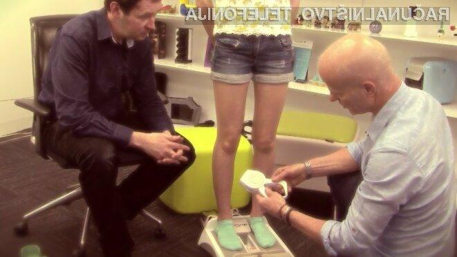 Merjenje velikost stopal še nikoli ni bilo zabavnejše!