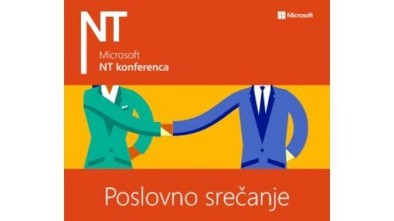 Letošnja novost na Microsoftovi NT konferenci bo NTK Poslovno srečanje.