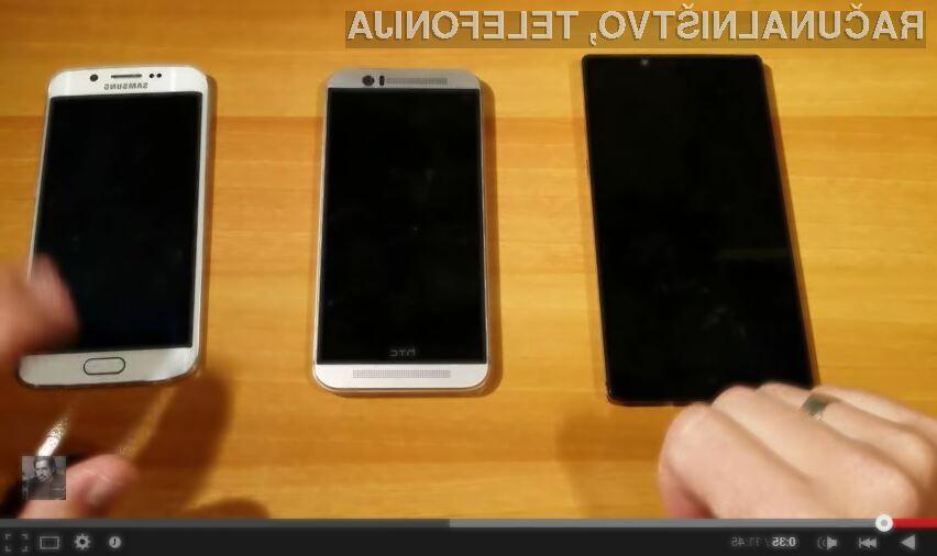 Samsung Galaxy S6 Edge vs HTC One M9 vs Lenovo Vibe Z2 Pro
