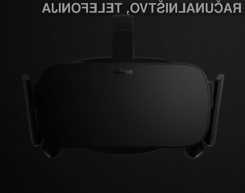 Zasebni zaslon Oculus Rift bo zlahka prepričal ljubitelje sodobne tehnologije.
