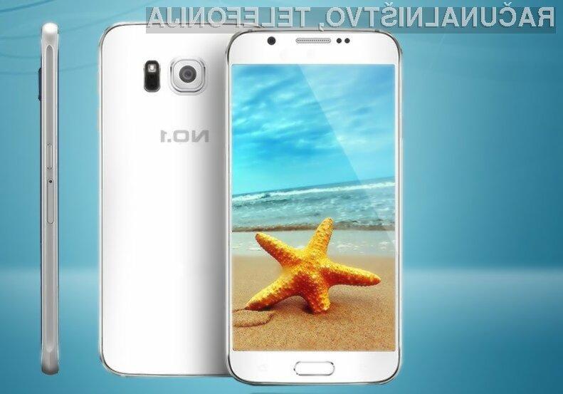 Pametni mobilni telefon No.1 S6 uporabnikov vsaj zlahka ne bo pustil na cedilu.