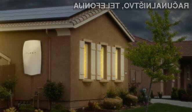 Nove cenovno ugodne baterije podjetja Tesla bodo namenjene tako stanovanjem kot manjšim podjetjem.