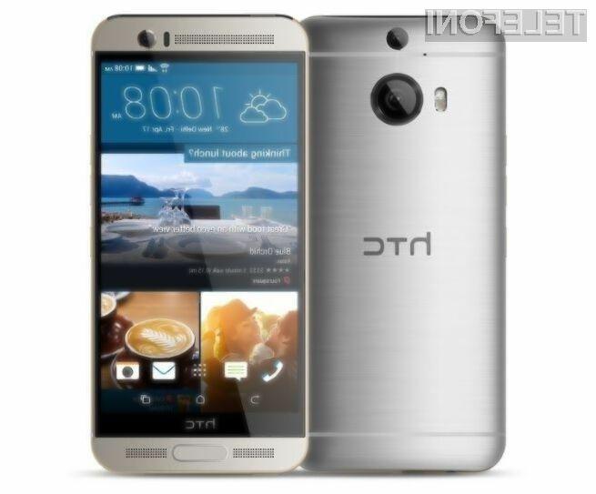 Mobilnik HTC One M9 + bo zagotovo razveselil marsikaterega evropskega uporabnika storitev mobilne telefonije!