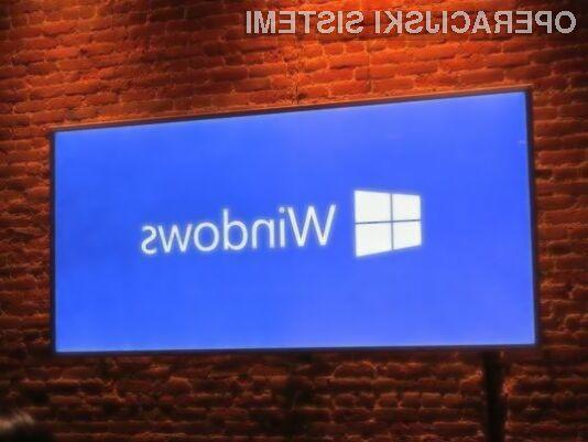 Cenejšim napravam bo na voljo Windows 10 z Bing!