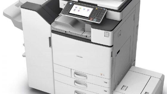 Ricoh z vseopravilnimi črno-belimi laserskimi tiskalniki A3