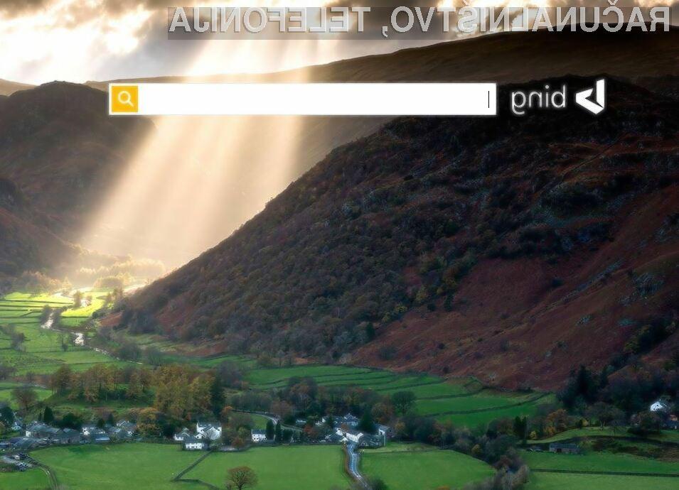 Vzpon iskalnika Bing