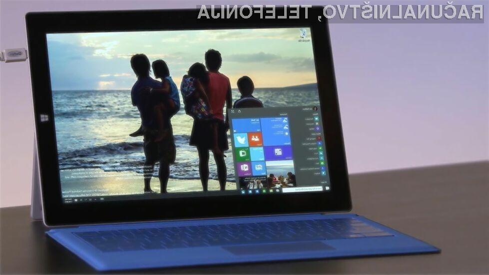 Odločitev o nadgradnji na Windows 10 bo v celot prepuščena vam.