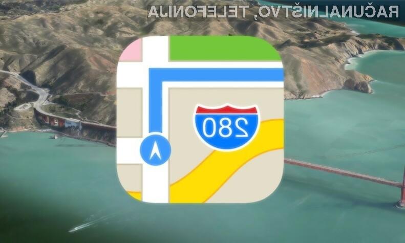Podjetje Apple bo tridimenzionalni ulični pogled ponudilo še letos.