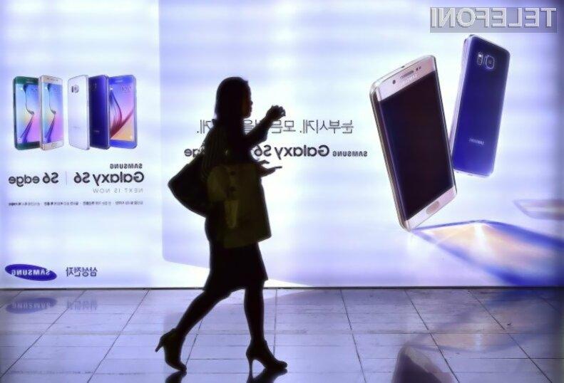 Novi Samsung Galaxy S6 Plus bo v imenu posnemal večji iPhone.