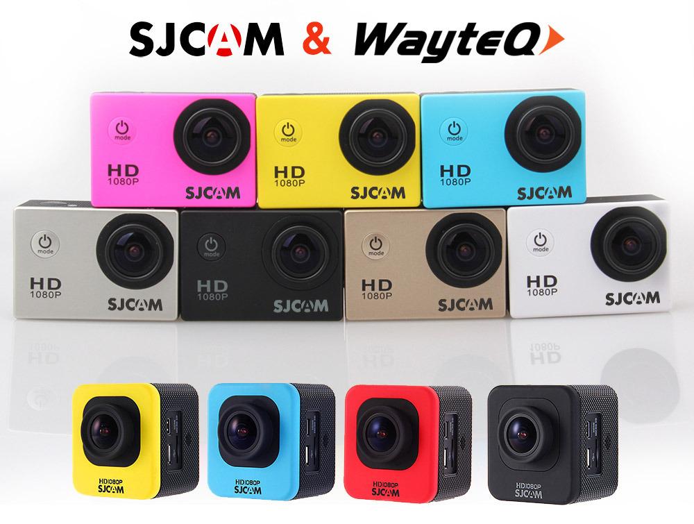 Širok nabor modelov športnih kamer SJCAM od junija 2015 v prodajnem programu WayteQ