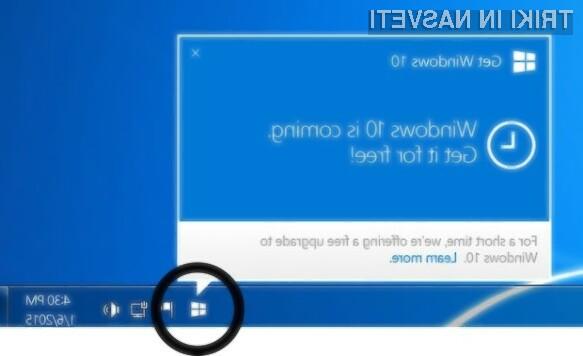 Ikona Windows 10 za posodobitev je že marsikaterega uporabnika spravila v slabo voljo.