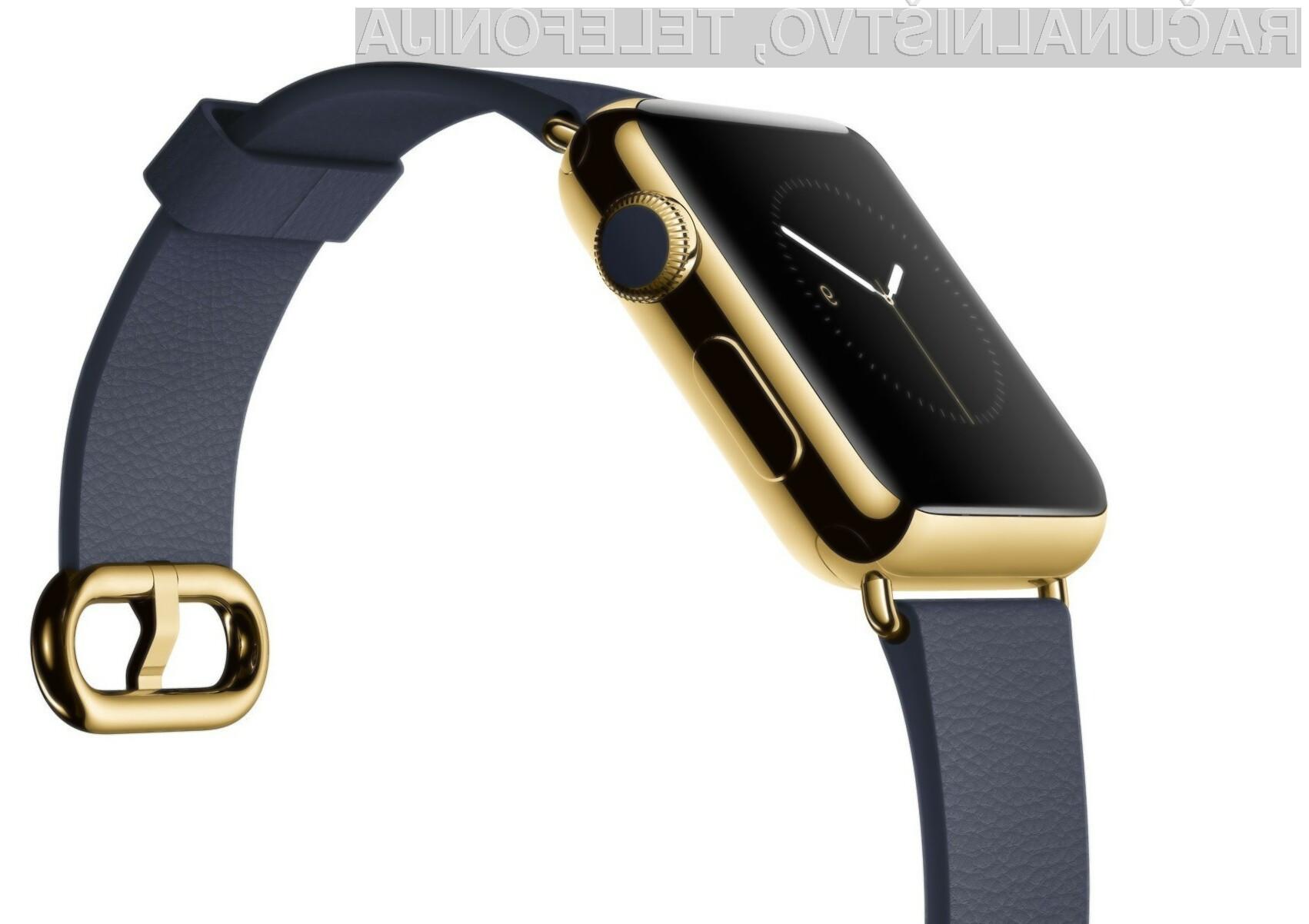 Povpraševanje po pametni ročni uri Apple Watch v prostem padu!