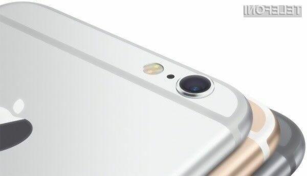 Mobilnika iPhone 6S s 16GB prostora ne bo!