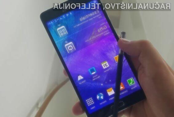 Samsung Galaxy Note 5 naj bi bil naprodaj pred novim mobilnikom iPhone!