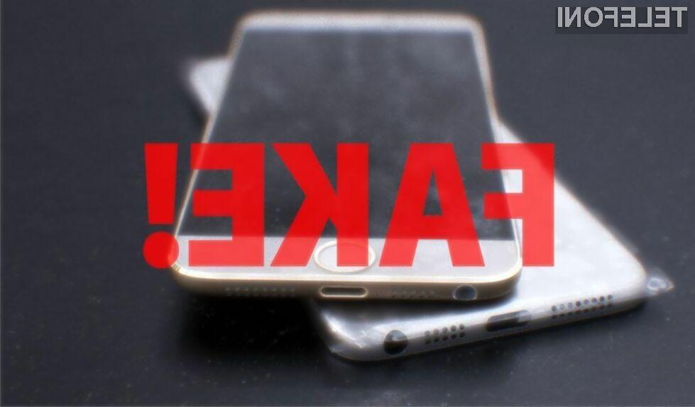 Kitajska policija ostro nad ponarejevalce mobilnikov iPhone!