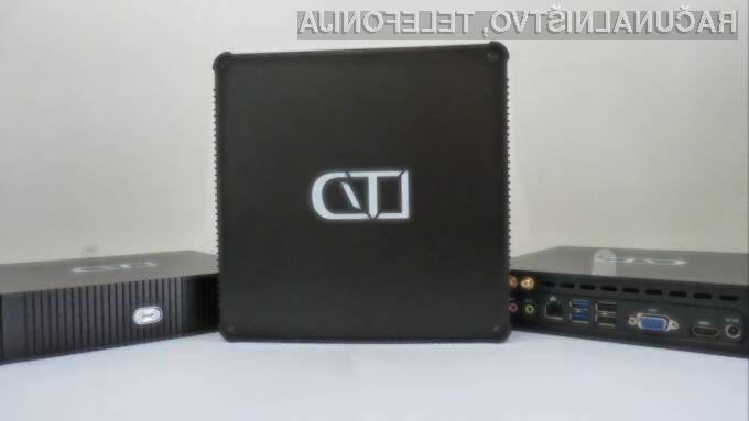 Miniaturni namizni računalnik LibreBox podjetja LibreTrend lahko povsem prilagodimo našim željam in potrebam.