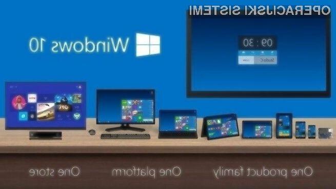 Operacijski sistem Windows 10 bo mogoče namestiti na bogato paleto obstoječih naprav!