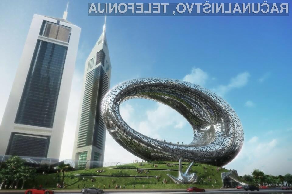 Museum of the Future bo ena izmed prvih zgradb, ki jo bodo v celoti