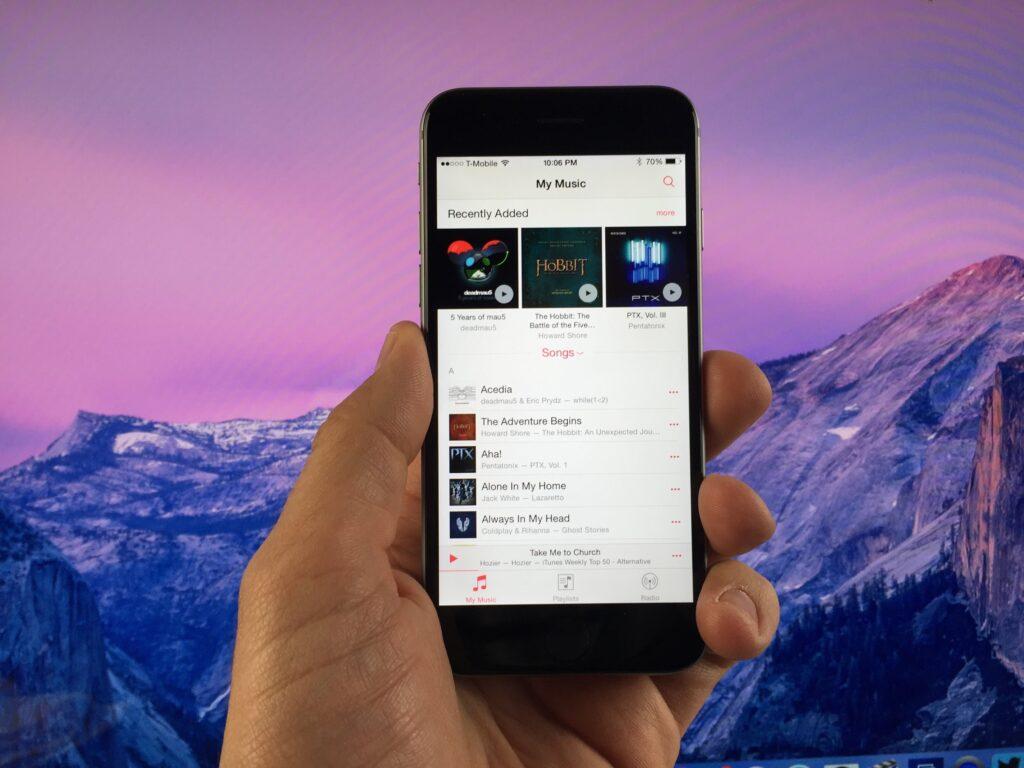 Novi iOS 8.4 prinaša lastnikom Applovih mobilnih naprav težko pričakovano glasbeno storitev Apple Music.