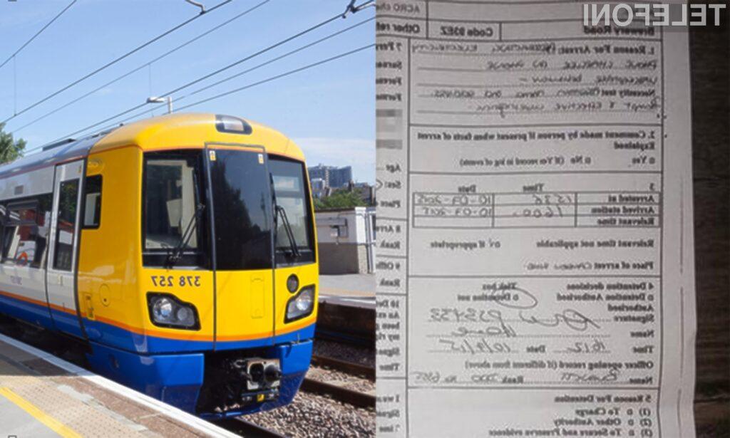 Zaposleni na vlaku se niso strinjali s polnjenjem mobilnika iPhone!