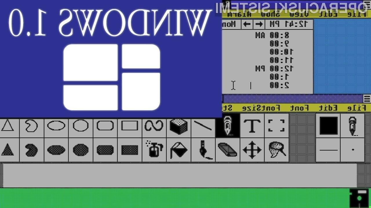Trideset za deset: Celotna zgodovina operacijskih sistemov Windows v enem videoposnetku!