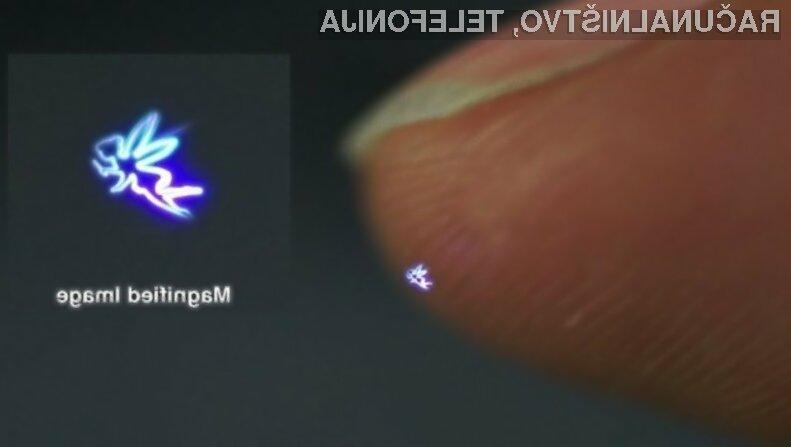 Tridimenzionalni hologrami ponujajo neomejene možnosti!