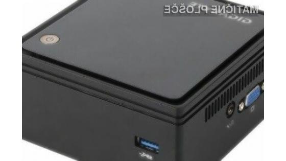 Novi kompaktni Gigabyte BRIX bo zlahka opravil tudi z video vsebinami ločljivosti 4K!