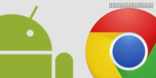 Milijarda prenosov brskalnika Chrome za Android