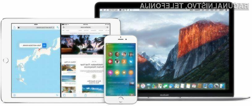 Poskusna iOS 9 in  OS X El Capitan na voljo za vse!
