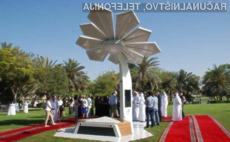 Pametne palme bodo nedvomno ena glavnih atrakcij v Dubaju!