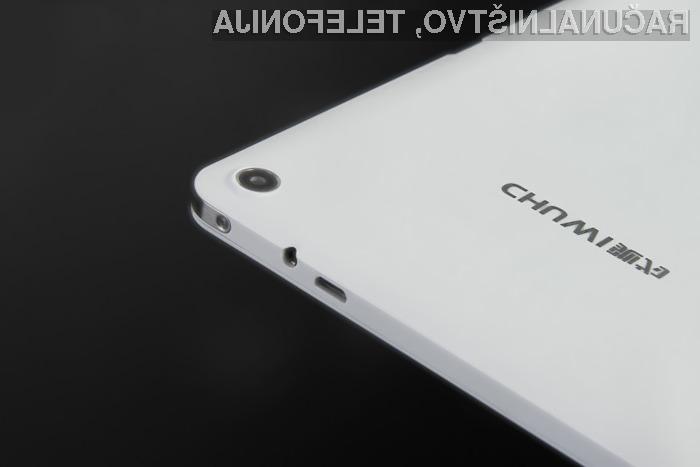 Na Chuwi Hi8 lahko poganjate tako Windows, kakor tudi Android.