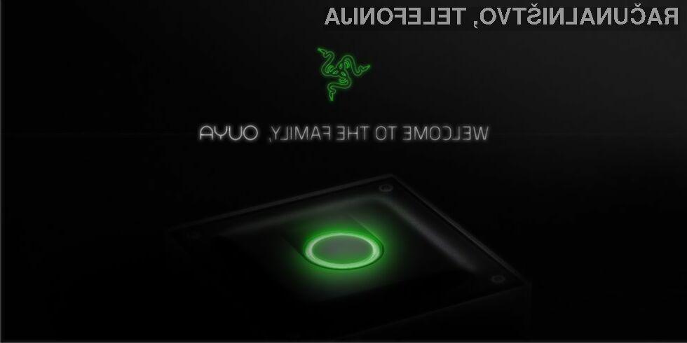 Obločna igralna konzola Ouya je pristala v rokah podjetja Razer!